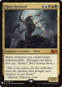Sliver Hivelord, Magic: The Gathering, Mystery Booster Cards