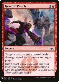 Gravitic Punch, Magic: The Gathering, Mystery Booster Cards