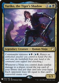 Yuriko, the Tiger's Shadow, Magic, Mystery Booster Cards