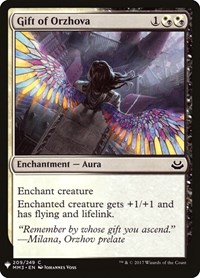 Gift of Orzhova, Magic: The Gathering, Mystery Booster Cards