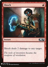 Shock, Magic: The Gathering, Mystery Booster Cards