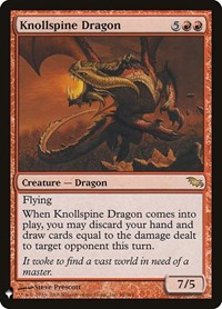 Knollspine Dragon, Magic: The Gathering, Mystery Booster Cards