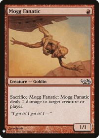 Mogg Fanatic, Magic: The Gathering, Mystery Booster Cards