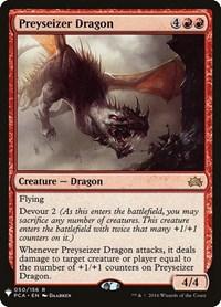 Preyseizer Dragon, Magic, Mystery Booster Cards