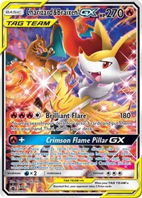 Charizard & Braixen GX - SM230, Pokemon, SM Promos