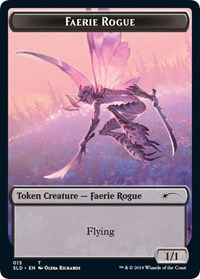 Faerie Rogue Token (013), Magic: The Gathering, Secret Lair Drop Series