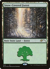 Snow-Covered Forest, Magic: The Gathering, Secret Lair Drop Series