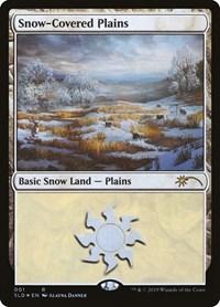 Snow-Covered Plains, Magic: The Gathering, Secret Lair Drop Series