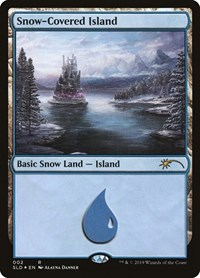 Snow-Covered Island, Magic: The Gathering, Secret Lair Drop Series