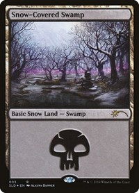 Snow-Covered Swamp, Magic: The Gathering, Secret Lair Drop Series