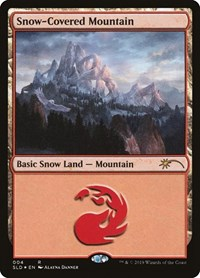 Snow-Covered Mountain, Magic: The Gathering, Secret Lair Drop Series