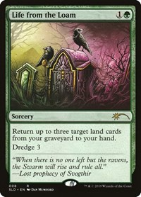 Life from the Loam, Magic: The Gathering, Secret Lair Drop Series