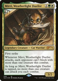 Mirri, Weatherlight Duelist, Magic: The Gathering, Secret Lair Drop Series