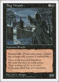 Bog Wraith, Magic: The Gathering, Fifth Edition