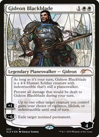 Gideon Blackblade (Stained Glass), Magic: The Gathering, Secret Lair Drop Series