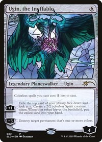 Ugin, the Ineffable (Stained Glass), Magic: The Gathering, Secret Lair Drop Series