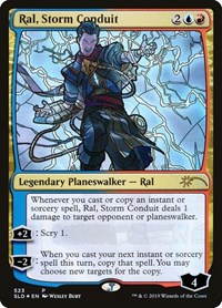 Ral, Storm Conduit (Stained Glass), Magic: The Gathering, Secret Lair Drop Series