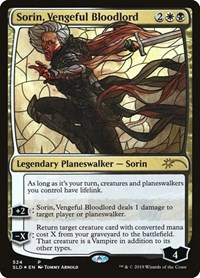 Sorin, Vengeful Bloodlord (Stained Glass), Magic: The Gathering, Secret Lair Drop Series