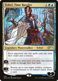 Teferi, Time Raveler (Stained Glass), Magic: The Gathering, Secret Lair Drop Series