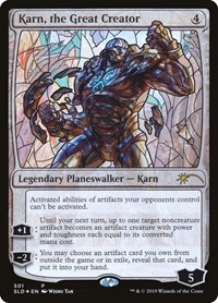 Karn, the Great Creator (Stained Glass), Magic: The Gathering, Secret Lair Drop Series
