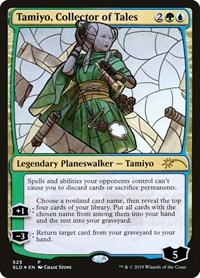 Tamiyo, Collector of Tales (Stained Glass), Magic, Secret Lair Drop Series
