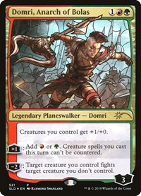 Domri, Anarch of Bolas (Stained Glass), Magic: The Gathering, Secret Lair Drop Series