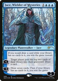 Jace, Wielder of Mysteries (Stained Glass), Magic: The Gathering, Secret Lair Drop Series