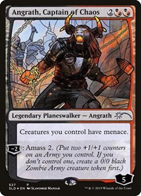 Angrath, Captain of Chaos (Stained Glass), Magic: The Gathering, Secret Lair Drop Series