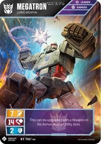 Megatron - Living Weapon (Energon Edition), Transformers TCG, Wave 1