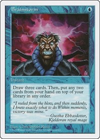 Brainstorm, Magic: The Gathering, Fifth Edition
