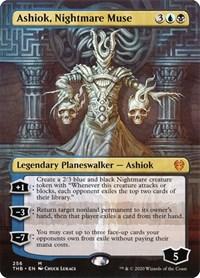 Ashiok, Nightmare Muse (Borderless), Magic: The Gathering, Theros Beyond Death