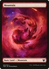 Mountain, Magic: The Gathering, Theros Beyond Death