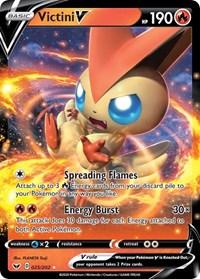 Victini V, Pokemon, SWSH01: Sword & Shield Base Set