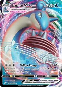 Lapras VMAX, Pokemon, SWSH01: Sword & Shield Base Set