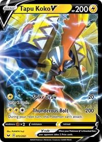 Tapu Koko V, Pokemon, SWSH01: Sword & Shield Base Set