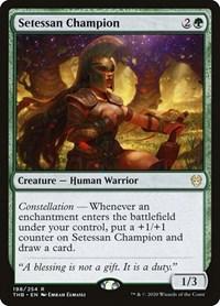 Setessan Champion, Magic: The Gathering, Theros Beyond Death