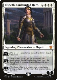 Elspeth, Undaunted Hero, Magic, Theros Beyond Death
