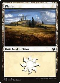 Plains (278), Magic: The Gathering, Theros Beyond Death