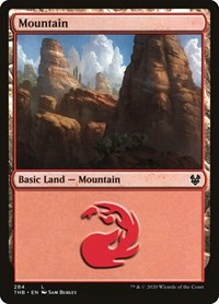 Mountain (284), Magic: The Gathering, Theros Beyond Death