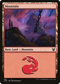 Mountain (285), Magic: The Gathering, Theros Beyond Death