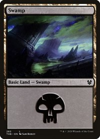 Swamp (283), Magic: The Gathering, Theros Beyond Death