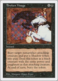 Broken Visage, Magic: The Gathering, Fifth Edition