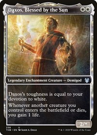 Daxos, Blessed by the Sun (Showcase), Magic: The Gathering, Theros Beyond Death