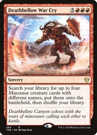 Deathbellow War Cry, Magic: The Gathering, Theros Beyond Death