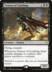 Demon of Loathing, Magic: The Gathering, Theros Beyond Death
