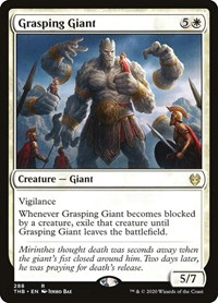 Grasping Giant, Magic, Theros Beyond Death