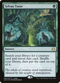Sylvan Tutor, Magic: The Gathering, Judge Promos