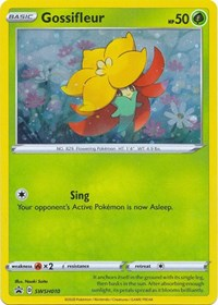 Gossifleur - SWSH010, Pokemon, SWSH: Sword & Shield Promo Cards