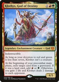 Klothys, God of Destiny (Foil)