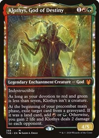 Klothys, God of Destiny (Showcase) (Foil)
